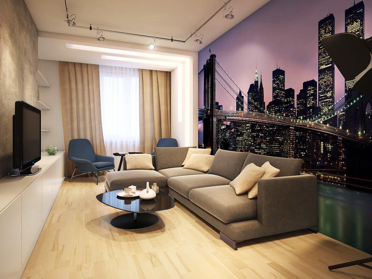 Красивый дизайн небольшой гостиной фото снятых