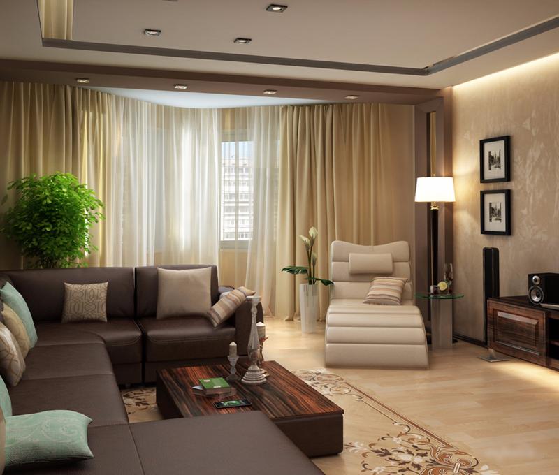 ремонт гостиной дизайн фото реальные зависимости внешнего