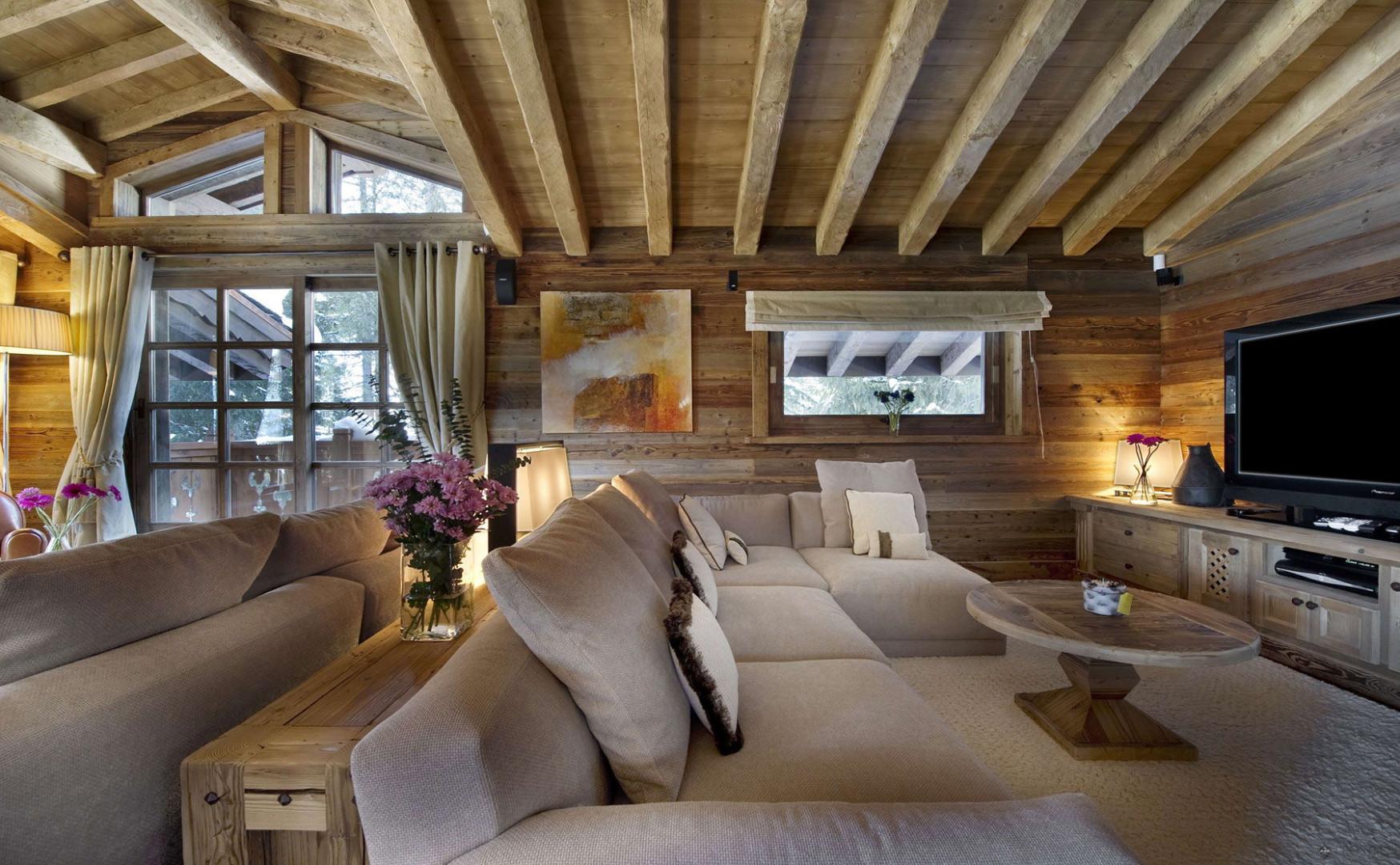 дизайн дома шале внутри фото комнат зависит размера