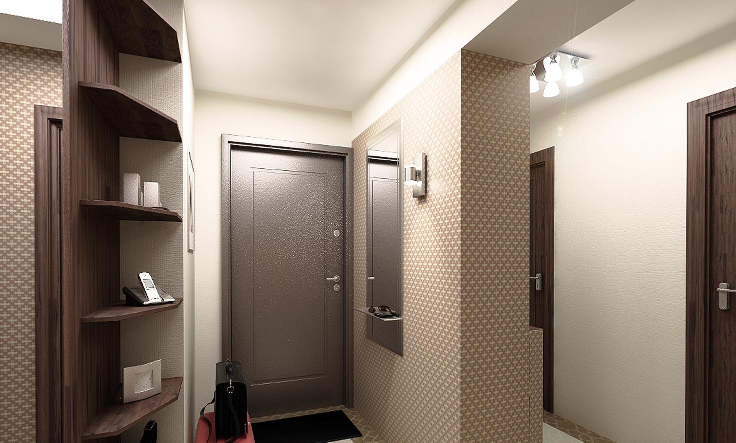 Обои для оформление коридора в квартире фото