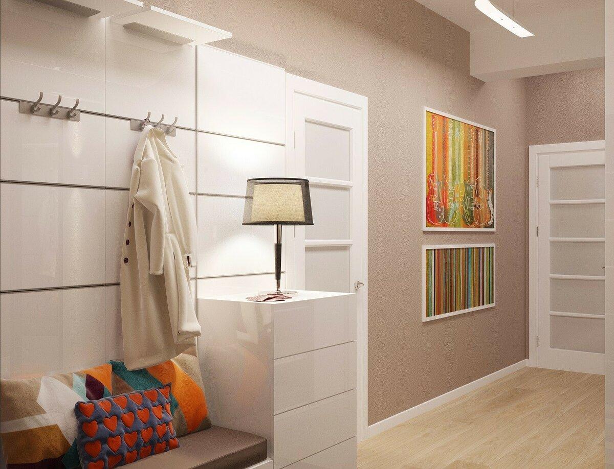 сети идеи дизайна прихожей и коридора фото мансардный