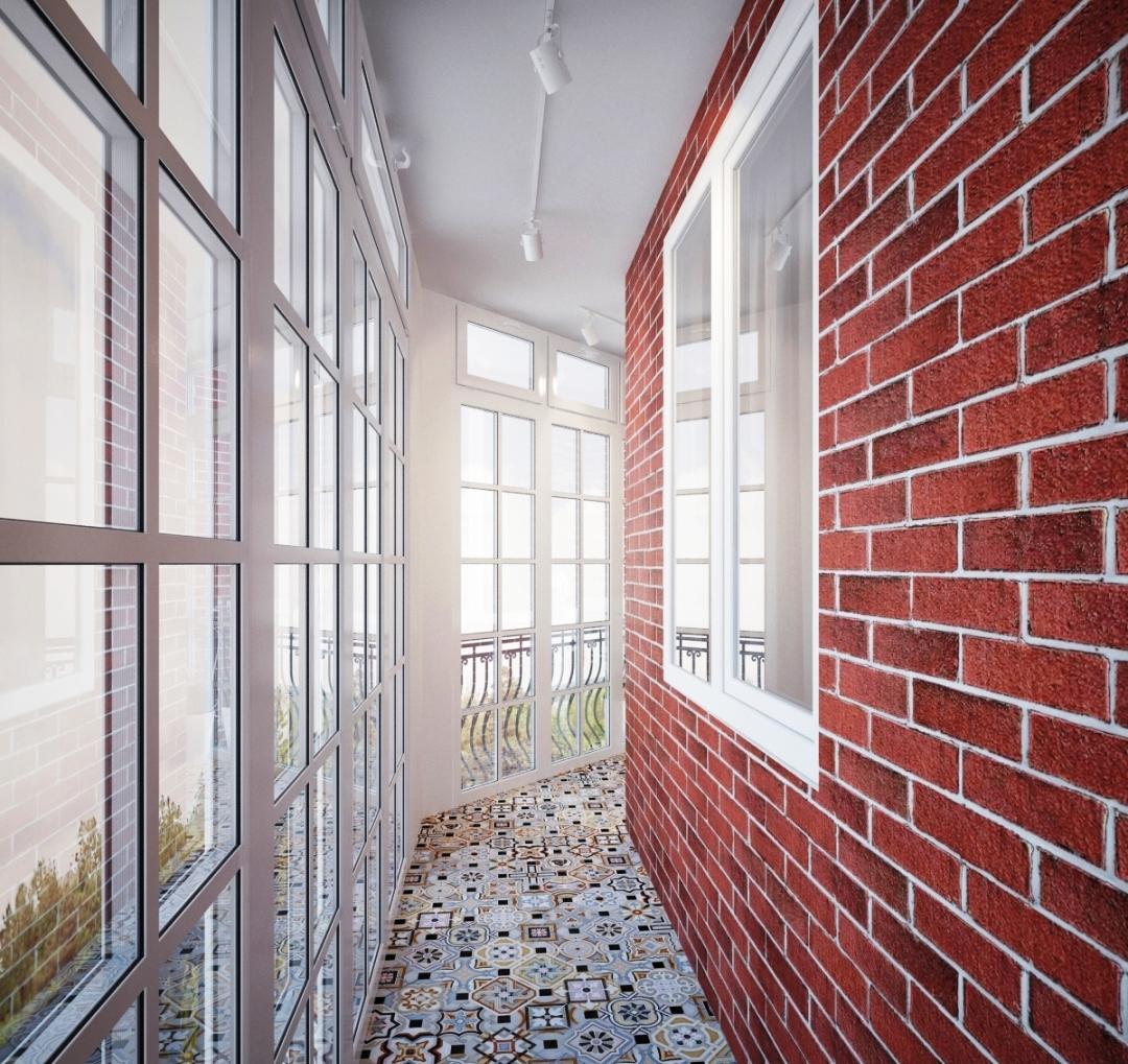 данную фото современной отделки стен и пола балкона железных латах, кольчуге