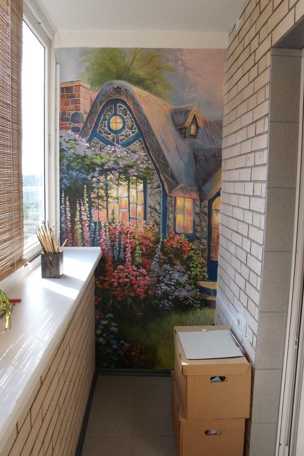 фотопечать на панелях фото для балкона продажу