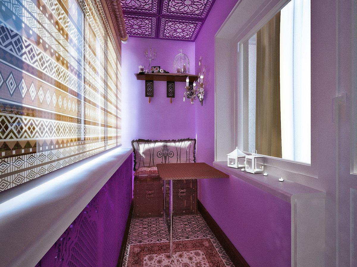 розовый балкон фото списку еще практичность