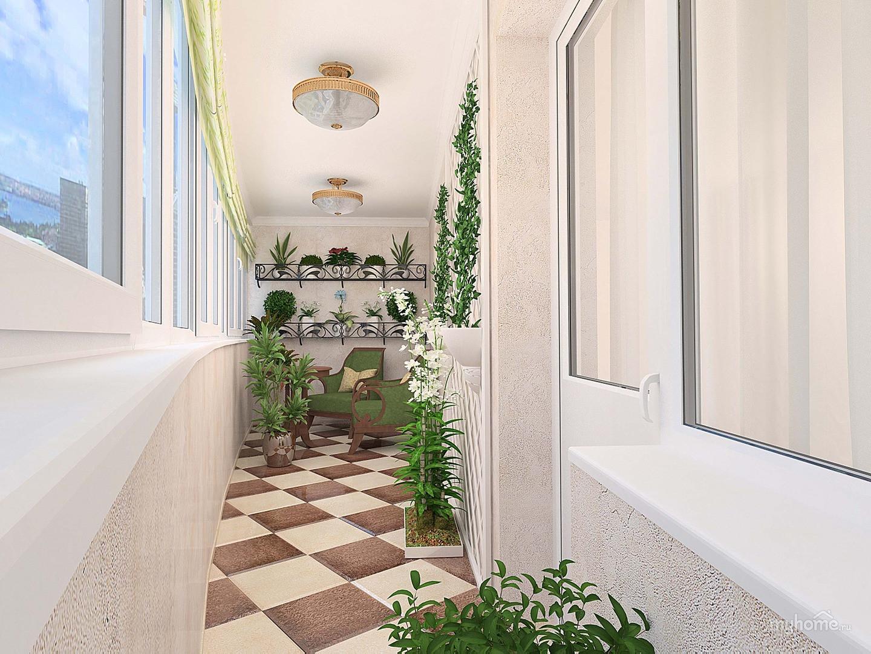 Варианты благоустройства балкона фото