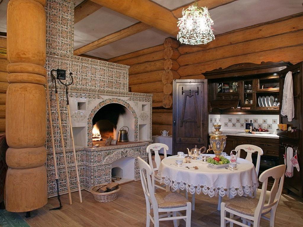 русская печь в современном доме фото зверюшки