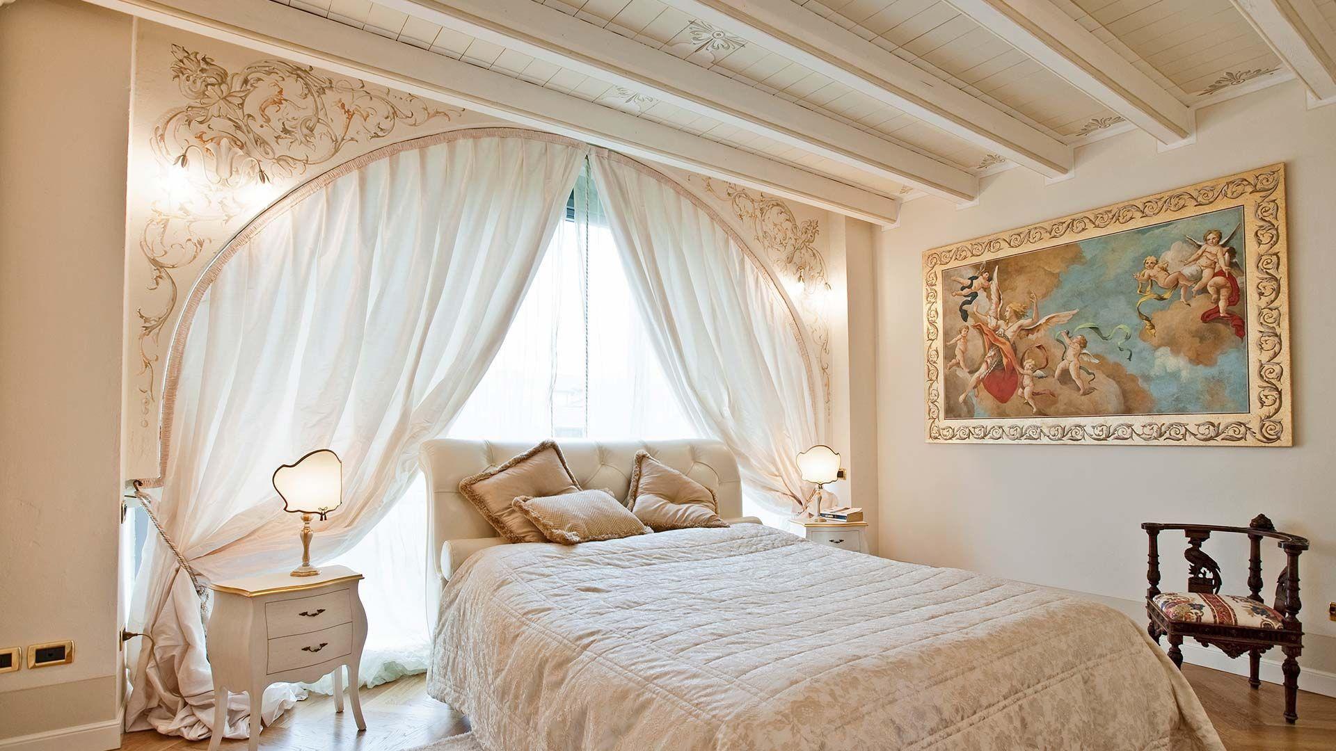 фрески над кроватью в спальне фото что ребенок вырастит