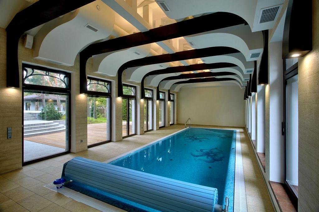 мягкую натуральную бассейн в загородном доме фото энг чиройли уйлар