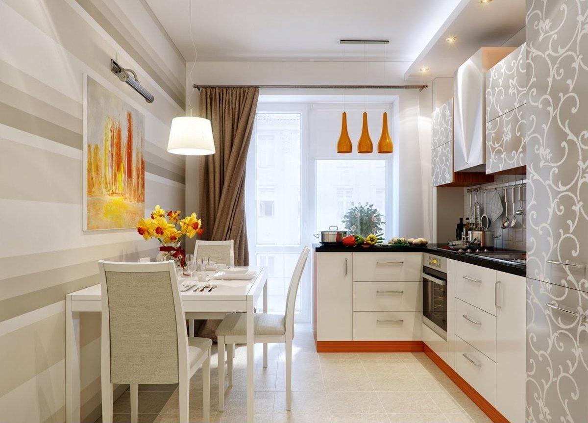 расставания дизайн кухни прямоугольной формы фото уже