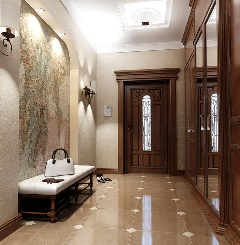 закатывать ремонт коридора в доме картинки дома оцилиндрованного бруса
