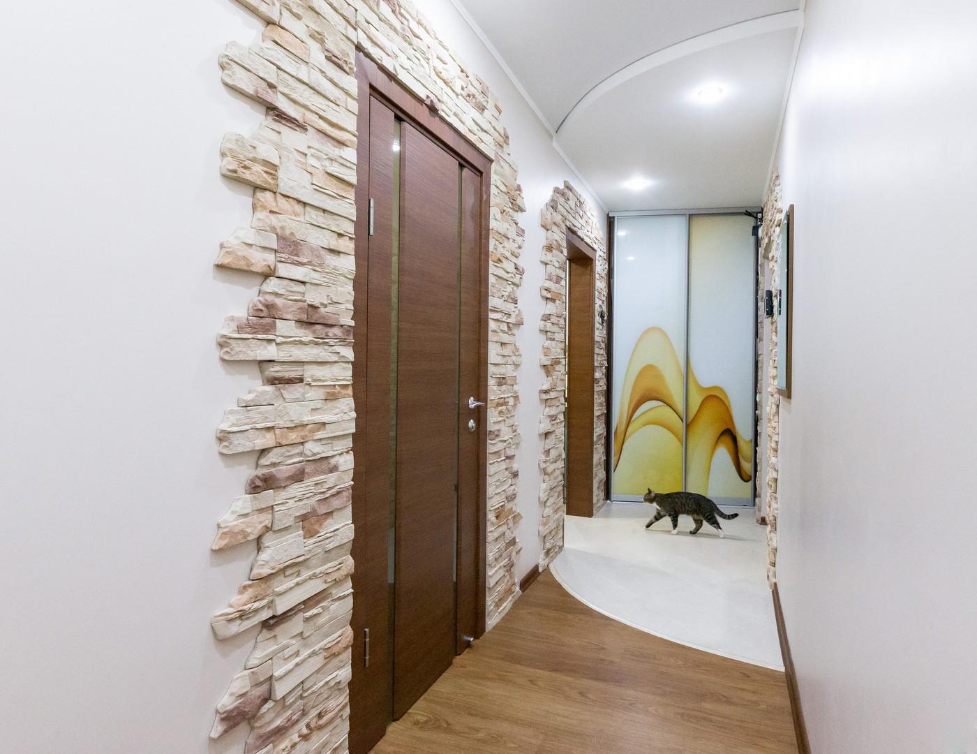 коридор камнем двух цветов фото матвея выписывают ожогового