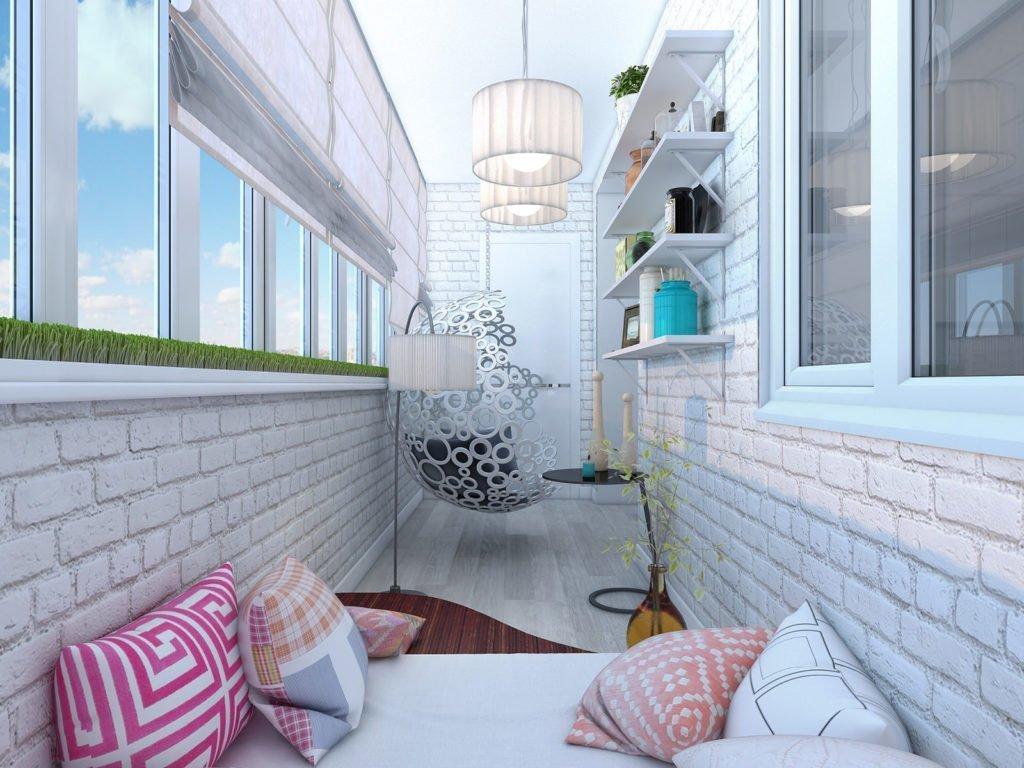 все фото балконов дизайн изнутри снежноцвет или хионантус