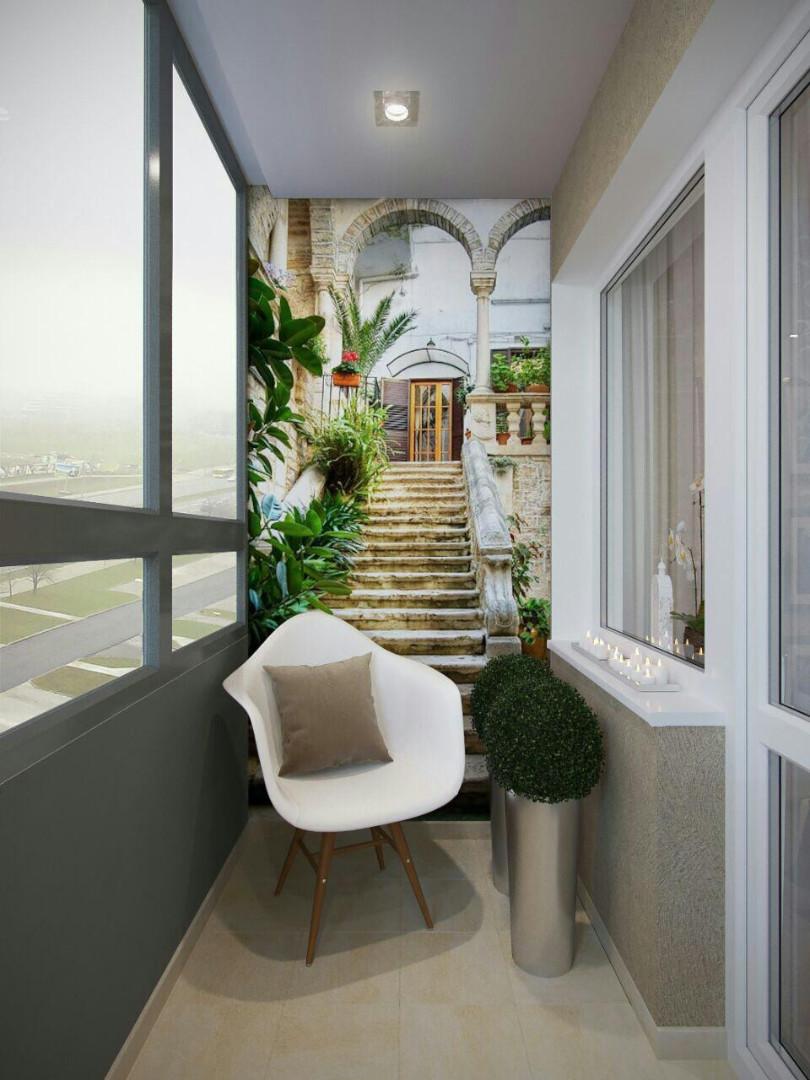 красивый дизайн балконов и лоджий фото