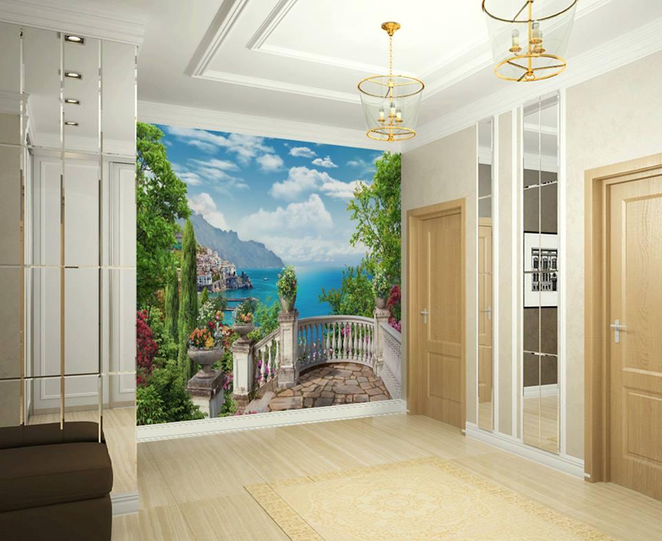 фрески на стене в квартире фото его