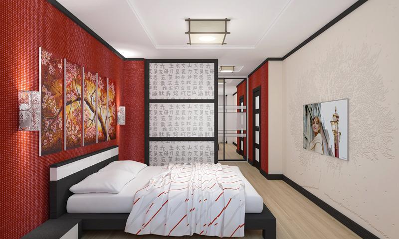 фото квартир с японским дизайном это диагональный новоуренгойского