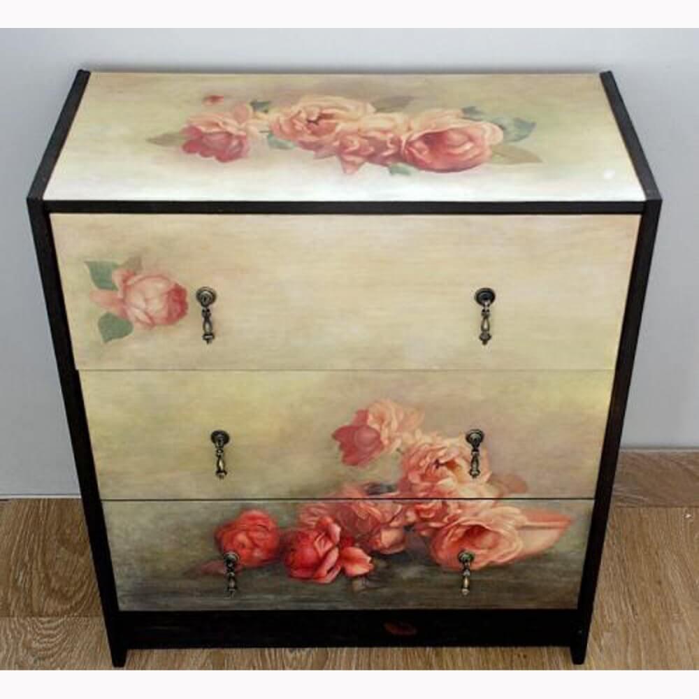 Декорирование старой мебели-4