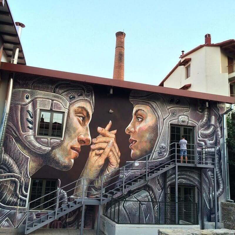 Граффити на улице:фото-1