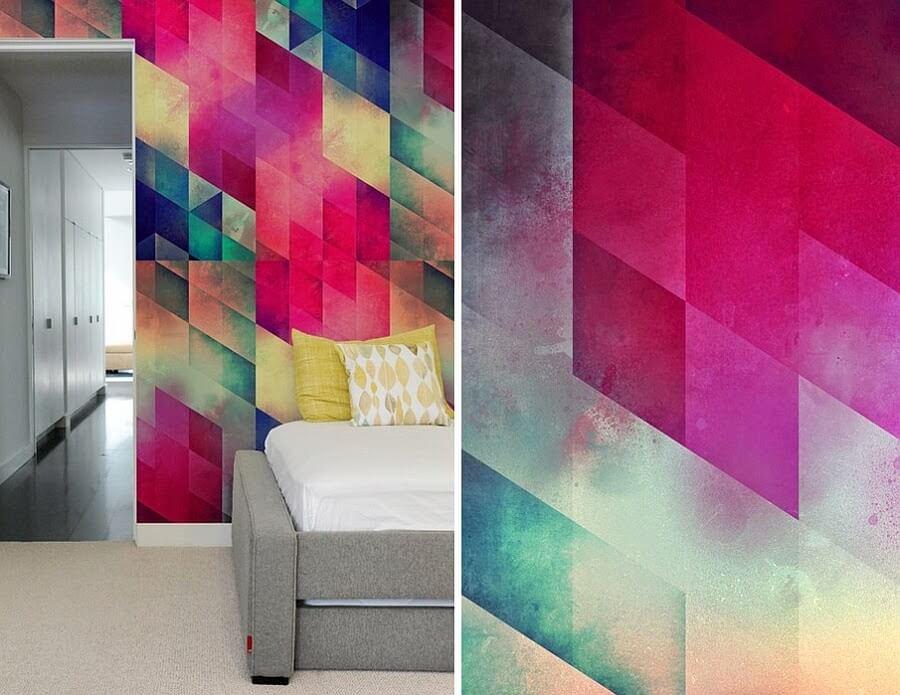 Покраска стен узорами-14