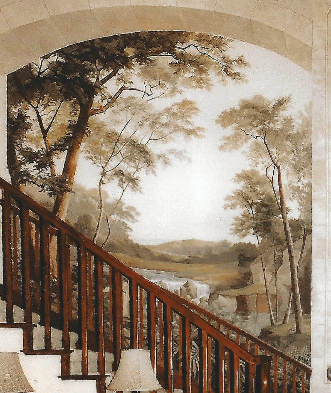 Роспись стен гризайль-2