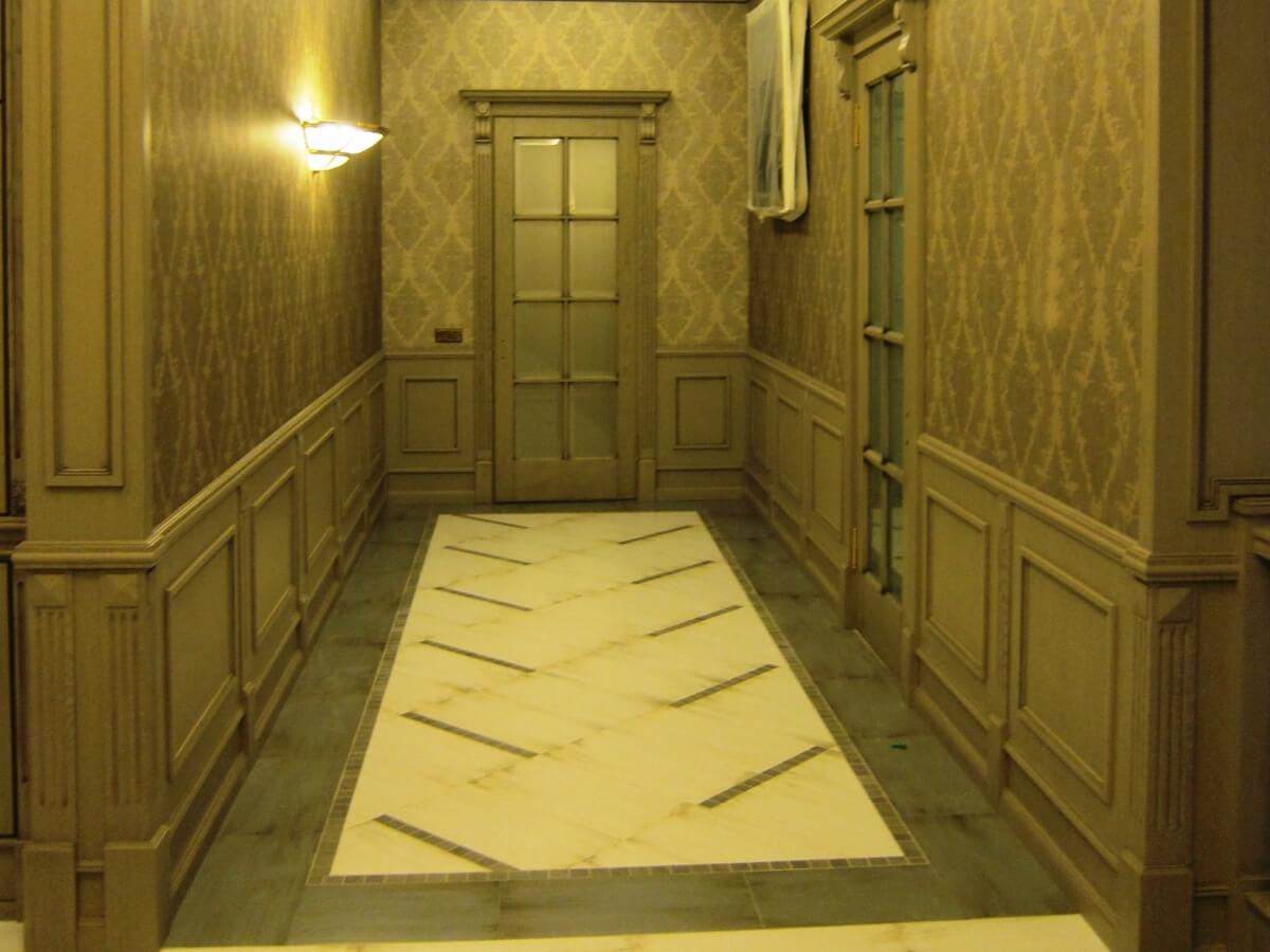 стеновая панель в коридоре картинки