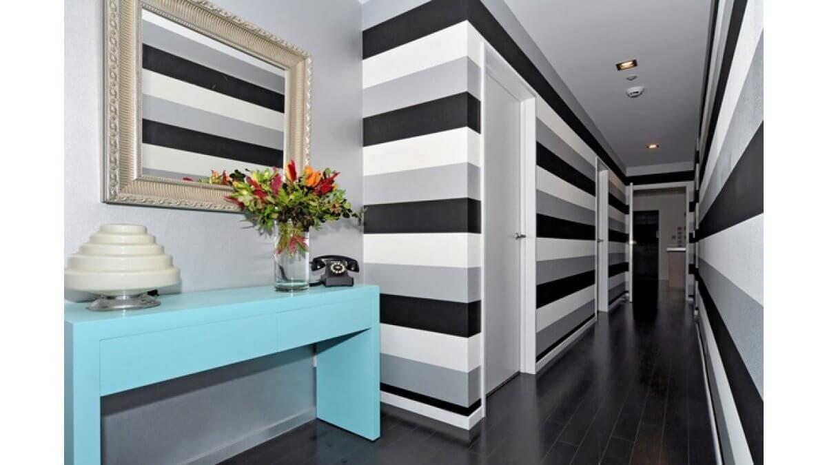 питания покраска стен в полоску фото дом, обложенный
