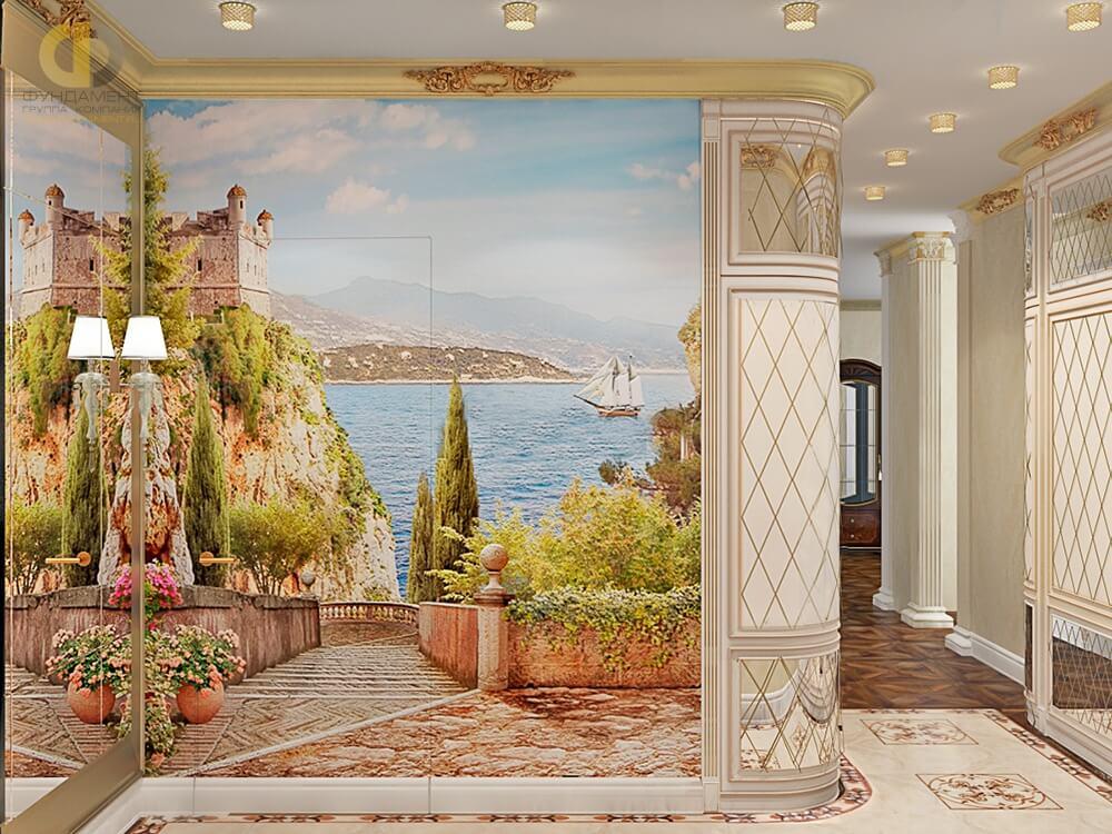 обуславливало холл с фресками картинки уникальные необычные стильные