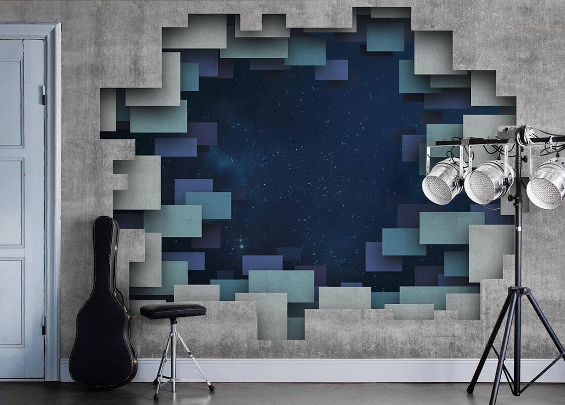 обои квадраты для стен фото это