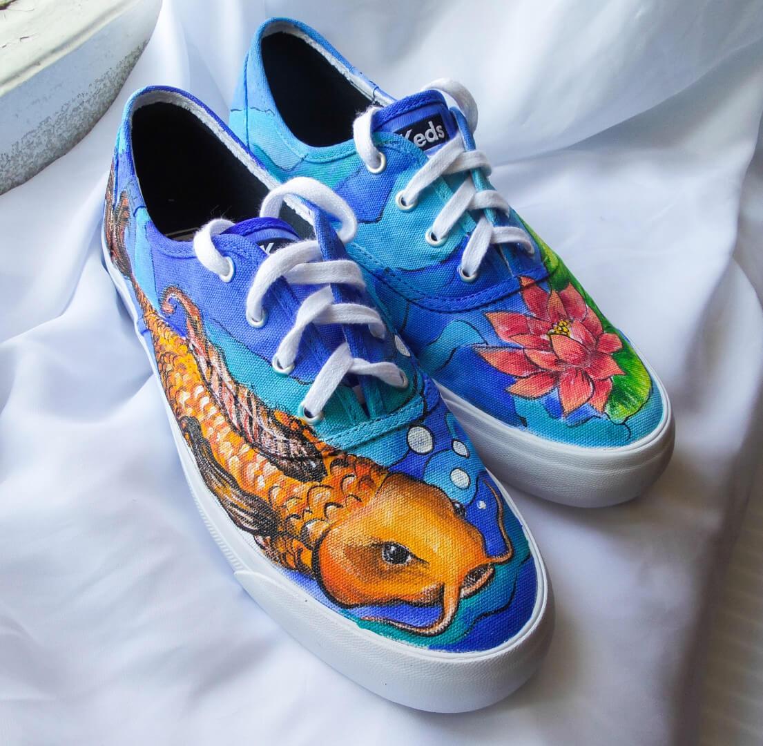Роспись обуви и кед-456845