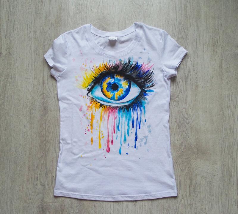 футболка для росписи