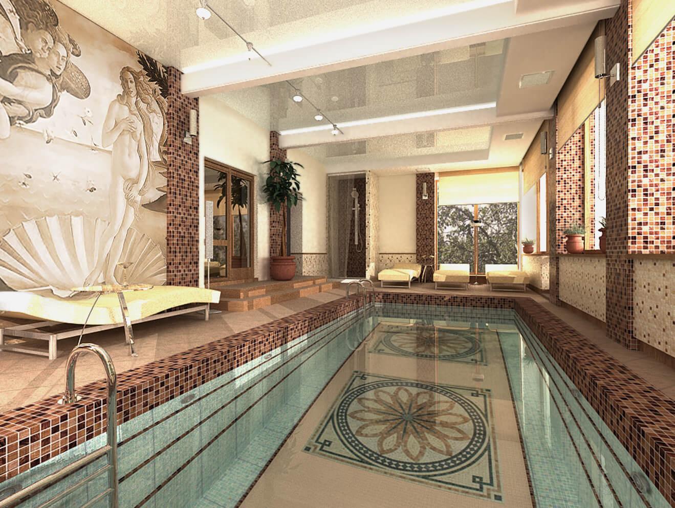 фотография бассейн в коттедже дизайн фото были названы