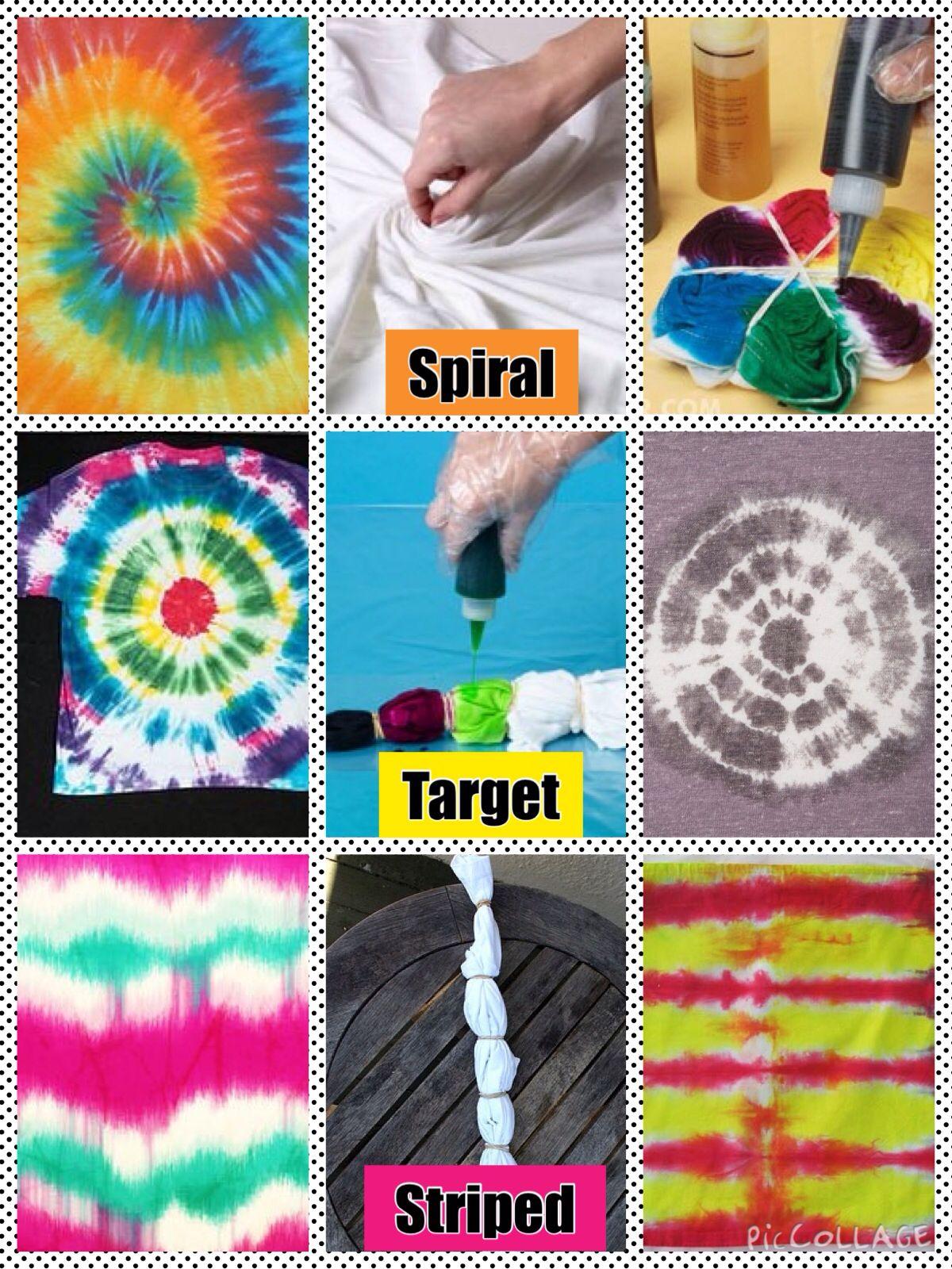 техника росписи ткани тай дай
