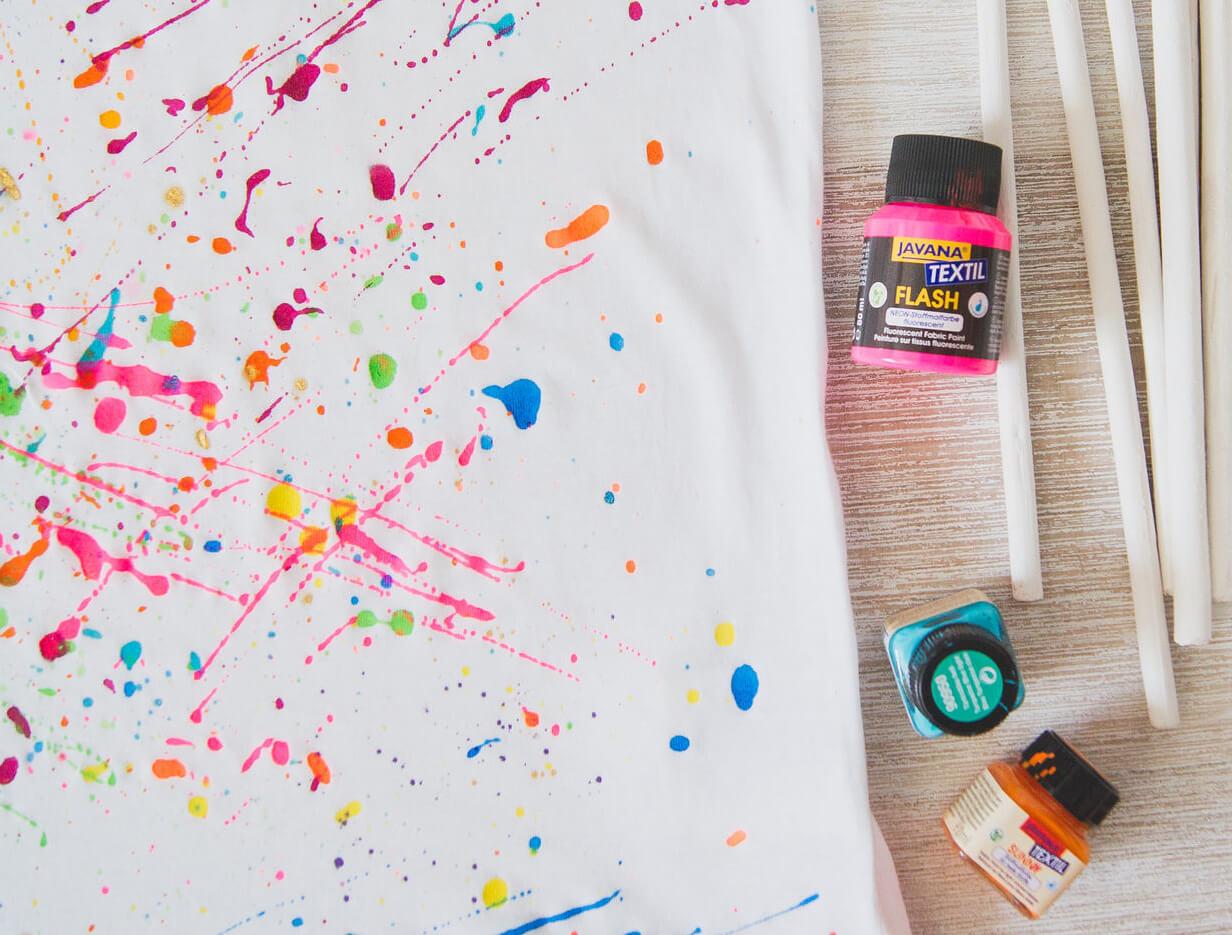 роспись футболки и ее цвет
